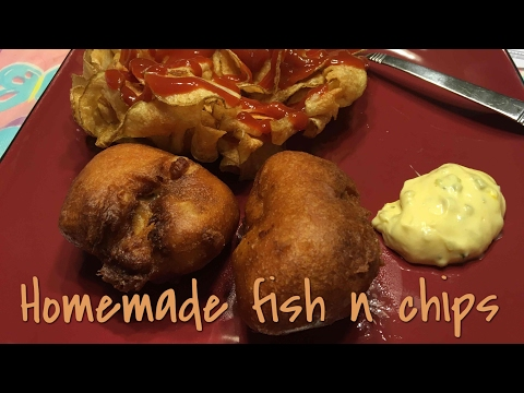 How To Make Homemade Fish & Chips - Good Friday Food