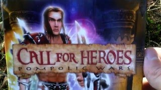 Call for Heroes Pompolic Wars Unboxing (PC) ENGLISH