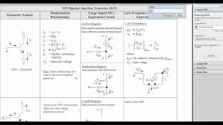 Another BJT Transistor Example-FE/EIT Exam