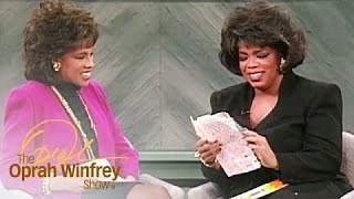 Oprah and Gayle Read Their High School Love Letters | The Oprah Winfrey Show | Oprah Winfrey Network
