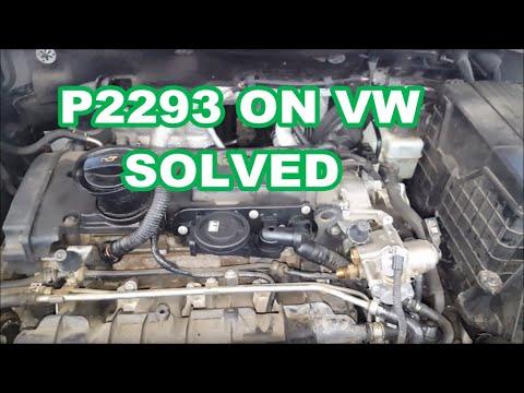 2017 Vw Jetta >> 2006 VW Passat P2293 P0087 failed high pressure pump cam follower - YouTube