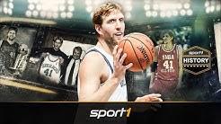 Als Dirk Nowitzki vor 20 Jahren in der NBA debütierte | SPORT1 - HISTORY