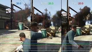 Grand Theft Auto 5: PS4 vs PS3/Xbox 360 Frame-Rate Test