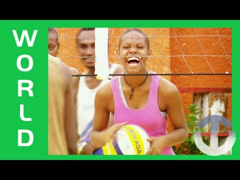 Vanuatu Beach Volleyball Team on Trans World Sport