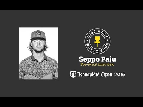 2016 Konopiste Open pre-event interview - Seppo Paju