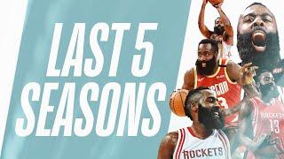 James Harden's BEST 4-PT Plays   Last 5 Seasons