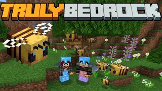 1.14 A Bee-Utiful Adventure! Truly Bedrock SMP | Season 1