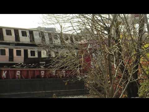 Old New York Subway Cars Get New Life