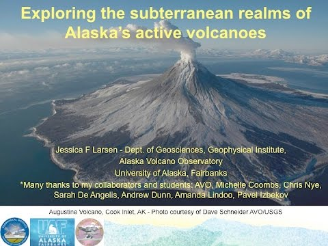 Science for Alaska Lecture Series 2016 February 9 - Jessica Larsen, Professor, UAF-GI