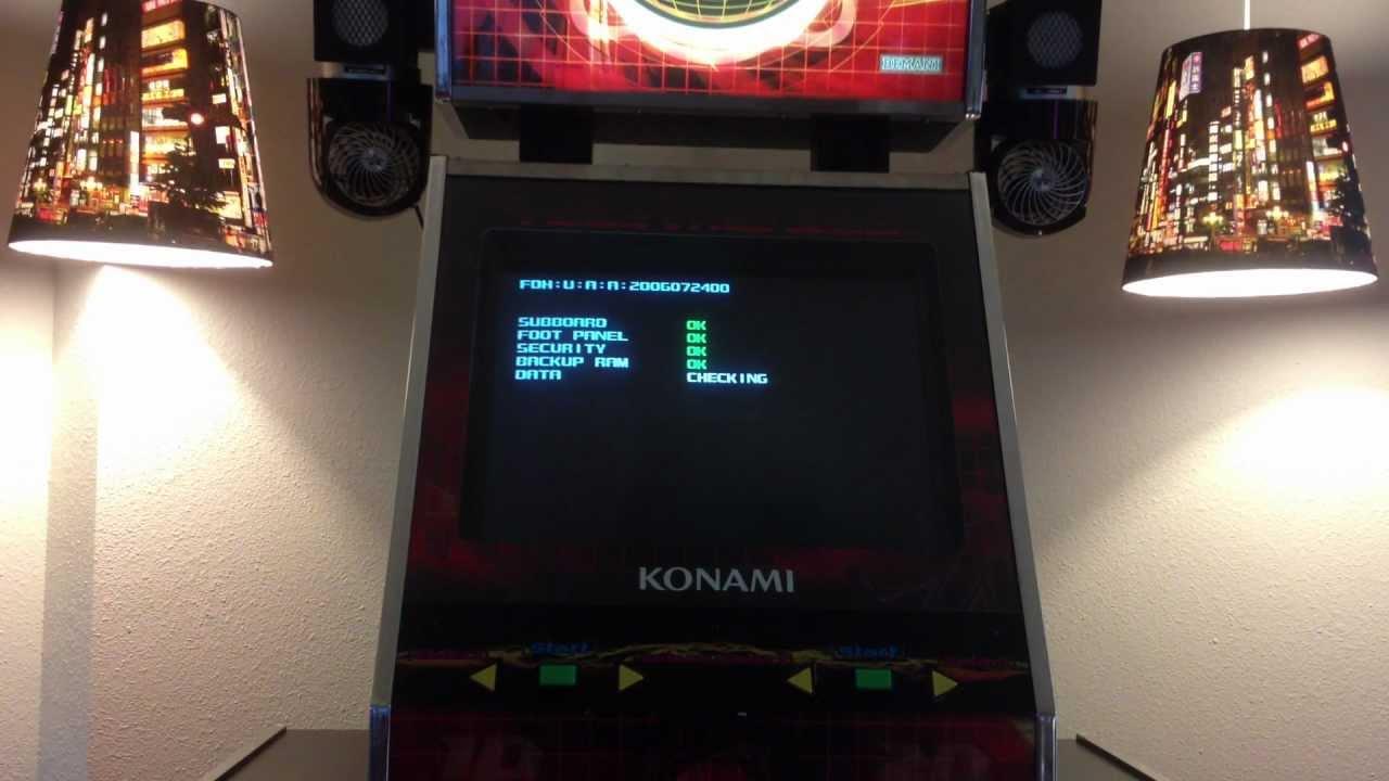 DDR Machine: Dance Dance Revolution SuperNOVA (Full Boot ...