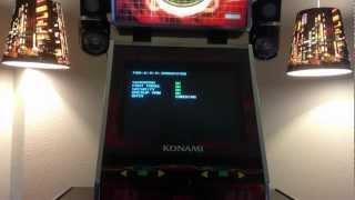 DDR Machine: Dance Dance Revolution SuperNOVA (Full Boot-Up Demonstration)