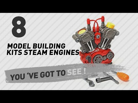 Model Building Kits Steam Engines, India 2017 Collection // Popular Model Building Kits