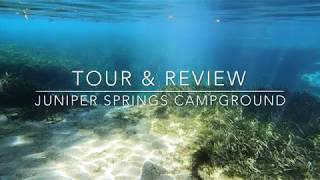 Juniper Springs Campground Tour & Review