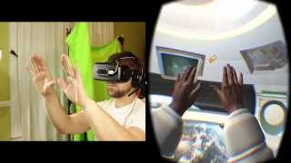 Leap Motion VR Bundle Unboxing & Weightless Gameplay - Oculus Rift