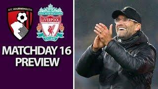 Bournemouth v. Liverpool I PREMIER LEAGUE MATCH PREVIEW I 12/8/18 I NBC Sports