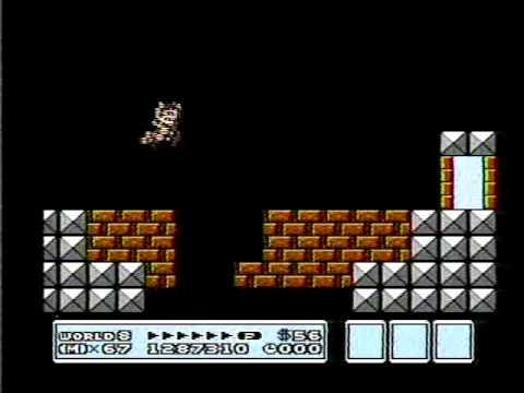 Super Mario Bros 3 World 8 Final Castle Youtube