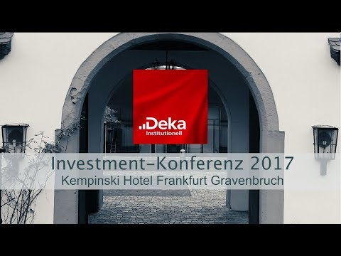 Deka Institutionell Investment Konferenz 2017