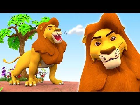 Sher Nirala Hindi Rhyme | Hindi Balgeet | शेर निराला | Hindi Kids Song