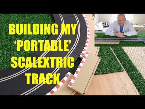 Building my 'portable' Scalextric track