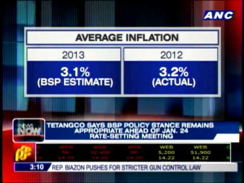Inflation to remain benign in 2013 - BSP
