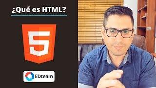 ¿Qué es HTML? - 10 cosas que debes saber