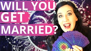 WILL WE GET MARRIED? 🔮PICK A CARD🔮 [TIMELESS TAROT READING] Will you end up together?