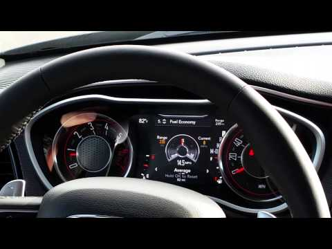 2015 Dodge Challenger R/T+ - Dashboard Specifications