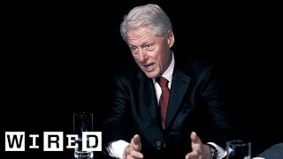 Exclusive Interview: Bill Gates & President Bill Clinton Pt. 2: The Global Economy-WIRED Live