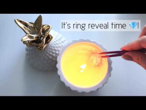 Charmed Aroma Ring Reveal: Pineapple Candle