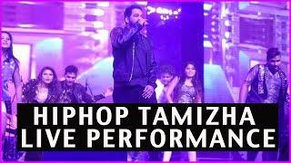 Hiphop Tamizha Live Dance Performance @ Dhruva Pre Release Function | Ram Charan