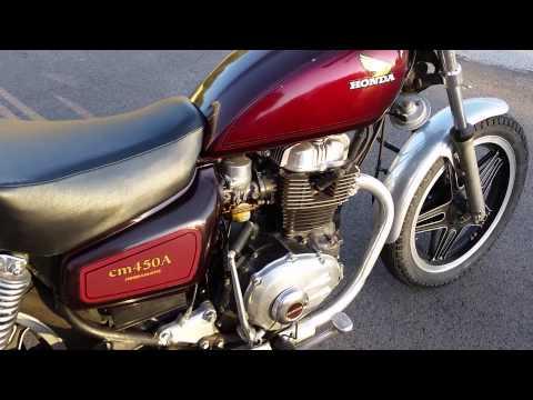 1982 Honda CB450 Hondamatic