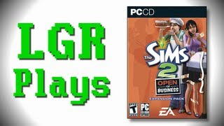 LGR Plays - The Sims 2 Open For Business