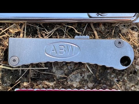 American Blade Works EDC Pocket Tool Keychain Knife Review; A Fun but Practical Utility Knife