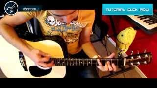 Sognare Division Minuscula Acustico Cover Guitarra Tutorial