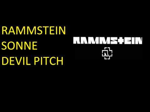 Rammstein  Sonne  Lower Devil Pitch