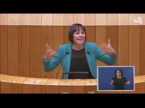 Intervención de Ana Pontón no debate de orzamentos 2019