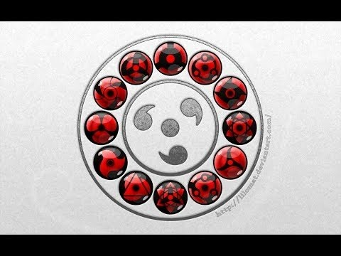 20 con mắt mạnh nhất trong Naruto và chức năng của từng loại. [Otaku Anime]