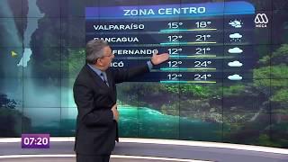Cuánto y por qué hay precipitaciones este martes en Santiago