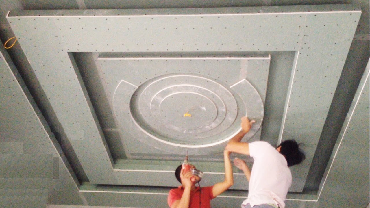 Technology Construction Plaster Ceiling Fastest Beautiful Ceiling Design Part 2 Youtube