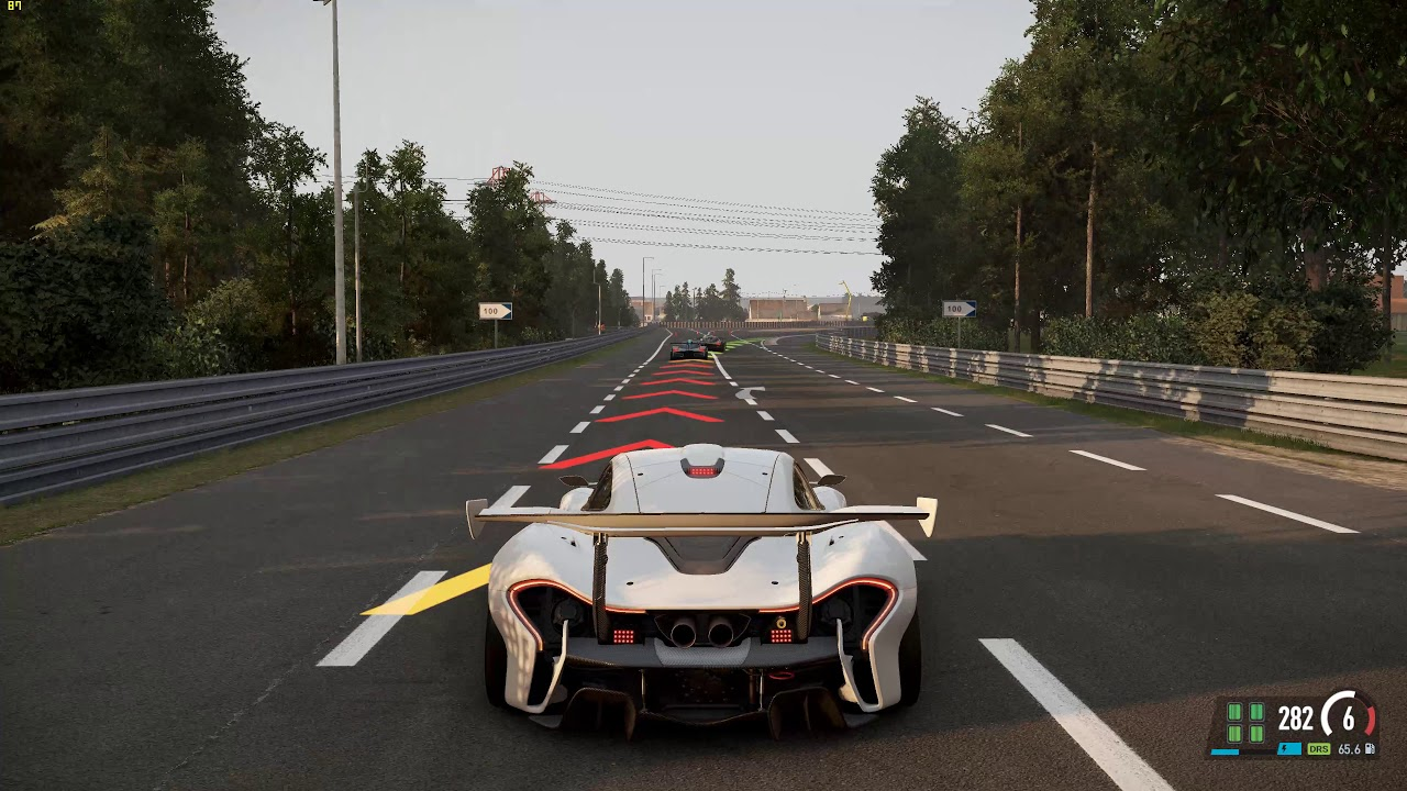 Project cars mclaren p1 4k 60fps gameplay lemans youtube - Project cars mclaren p1 ...
