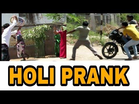 HOLI PRANK||first prank in jagtial || BY Jagtial diaries