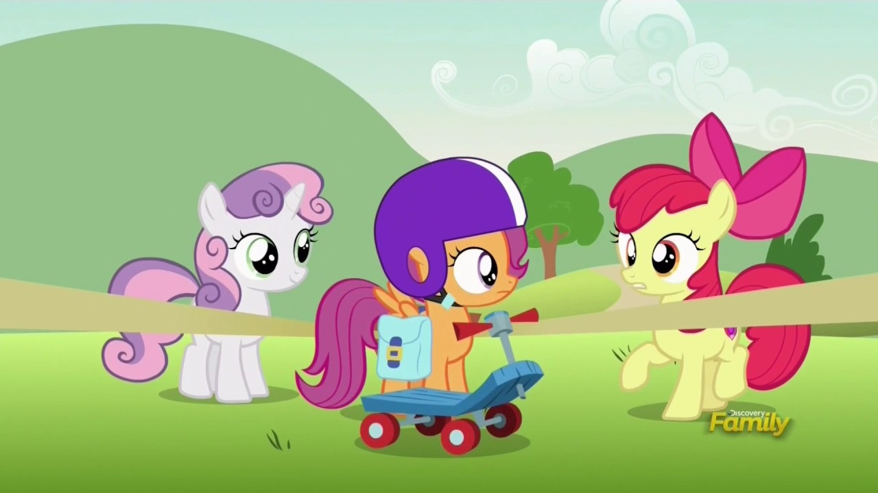 Scootaloo Flies To Cloudsdale Parental Glideance Youtube Scootaloo is a one of the secondary characters in my little pony friendship is magic. scootaloo flies to cloudsdale parental glideance