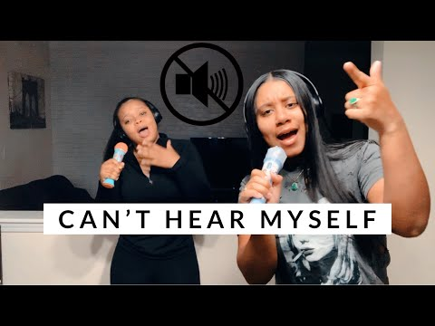 SINGING WITH NOISE CANCELLING HEADPHONES