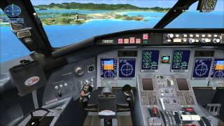 Фото Flight Simulator X миссия   Посадка на карибах
