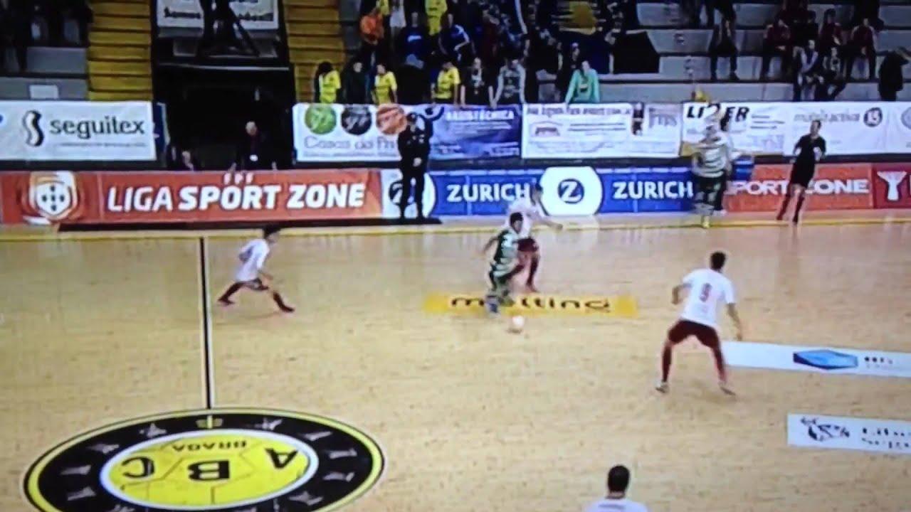 466097237b Gualtar vs Sporting (0-7) Liga Sport Zone Futsal 15 16 - YouTube