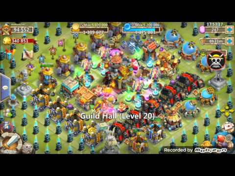Castleclash - How To Beat Expert Dungeon 7 4-5