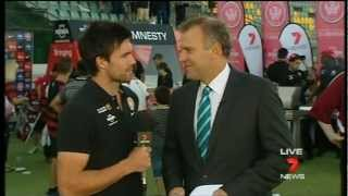 Western Sydney Wanderers on Seven News 6th March 2013