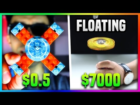 Thumbnail: $0.5 LEGO FIDGET SPINNER Vs. $7000 FIDGET SPINNER (Floating Fidget Spinner VS Lego Fidget Spinner)