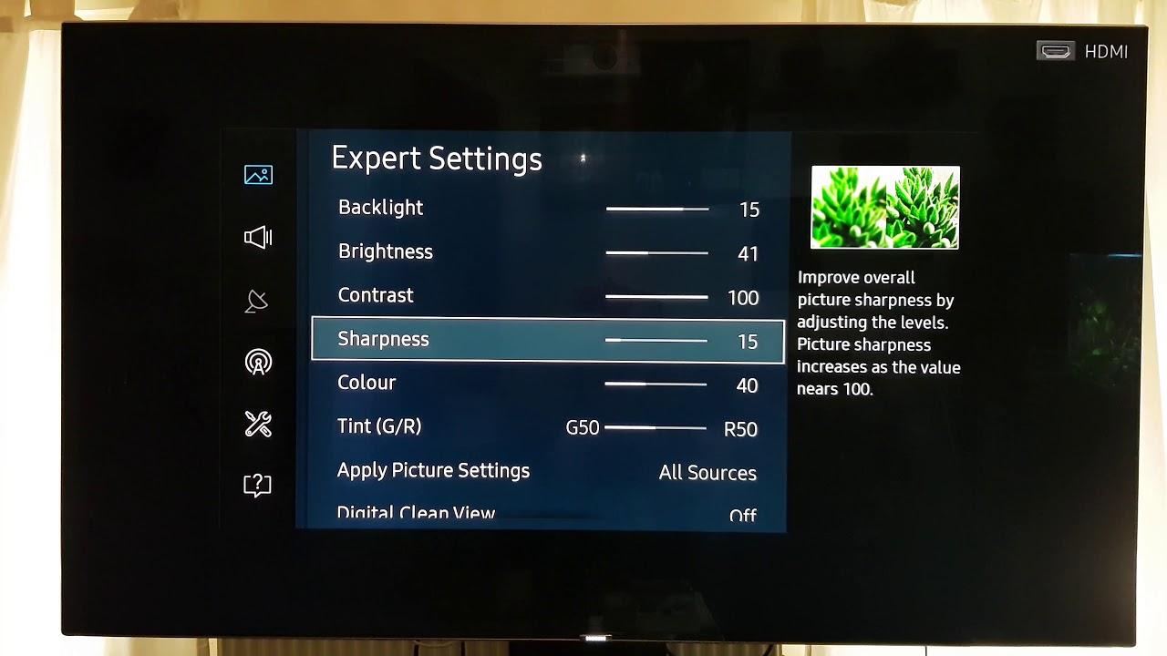 1230 5 Calibration Settings KS / MU Series Samsung TV's KS7000, KS8000,  KS9000   Firmware Update