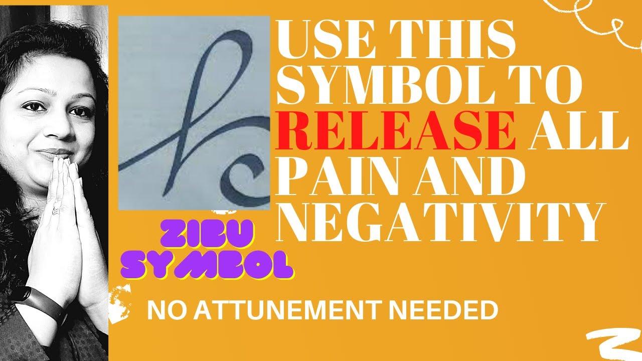 Release All Negativity And Pain Zibu Symbols Lesson 3 Youtube
